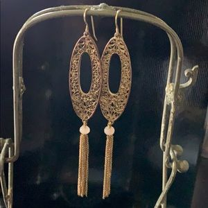 Jewelry - Vintage one of a kind romantic earrings